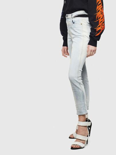 Diesel - Babhila High 009AX, Light Blue - Jeans - Image 6