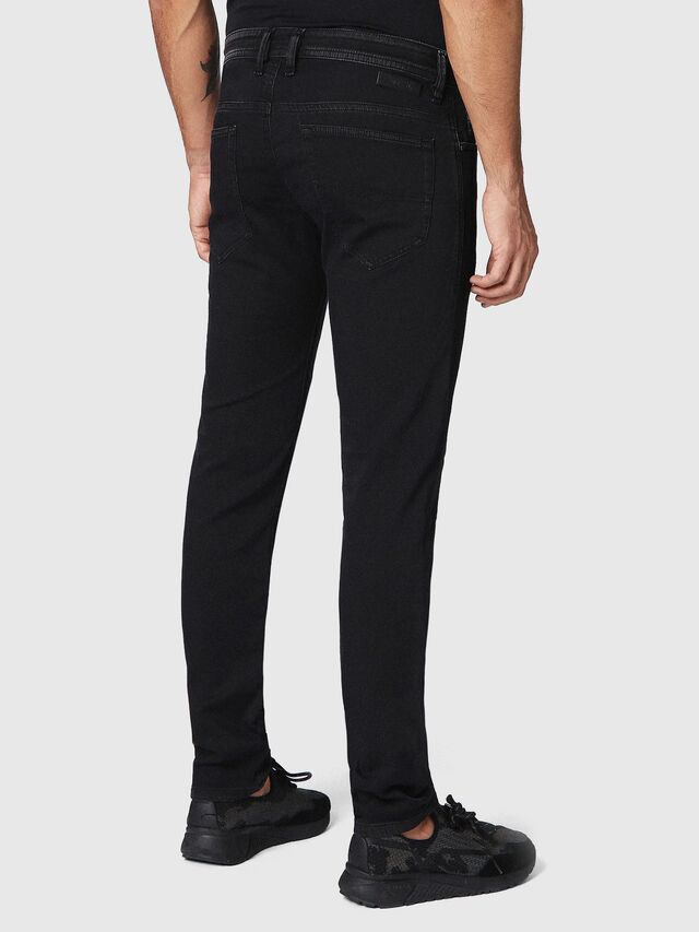 Diesel Thommer JoggJeans 0687Z, Black/Dark grey - Jeans - Image 2