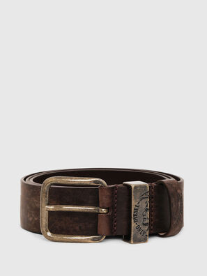 B-FRAG, Brown Leather - Belts