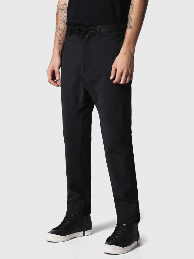 Diesel - P-HONNYER, Black - Pants - Image 1