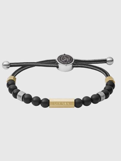 Diesel - DX1269, Black/Gold - Bracelets - Image 1