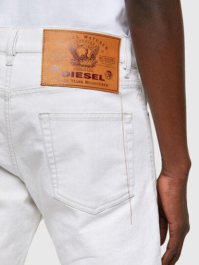 Diesel - D-Strukt 003AF, White - Jeans - Image 4