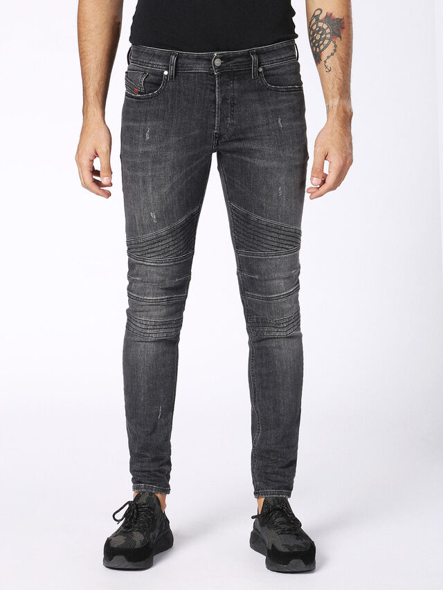 Diesel - Fourk 084NQ, Black/Dark grey - Jeans - Image 1