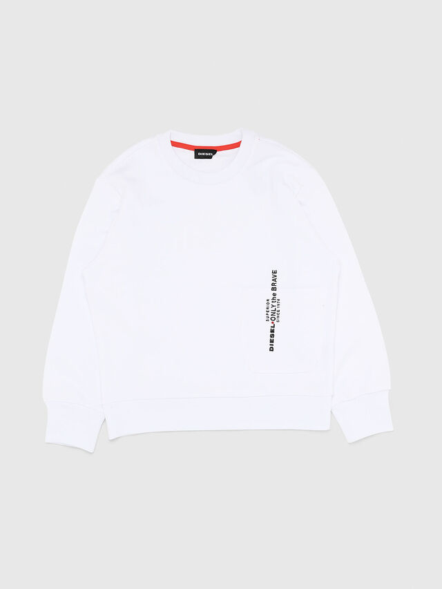 Diesel - SELLISX OVER, White - Sweaters - Image 1