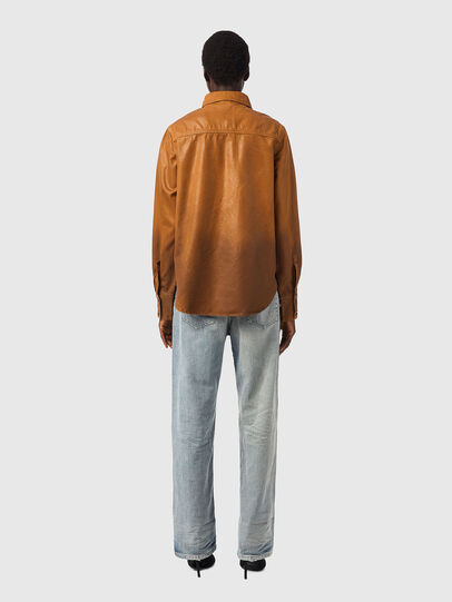 Diesel - DE-EVE-SP, Brown - Denim Shirts - Image 5