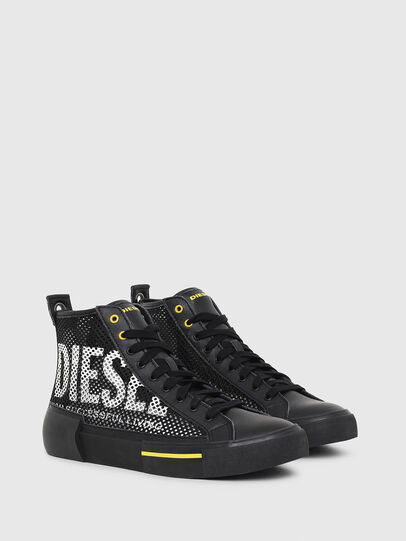Diesel - S-DESE MID CUT, Black/Yellow - Sneakers - Image 2