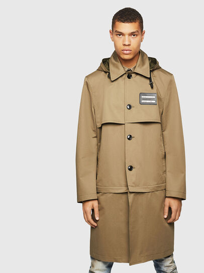 Diesel - J-KODORY, Military Green - Jackets - Image 1