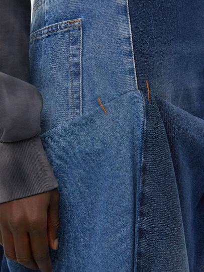 Diesel - DE-LAU-SP, Medium blue - Skirts - Image 3
