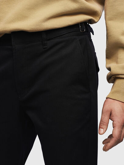 Diesel - P-CHARLIE, Black - Pants - Image 3