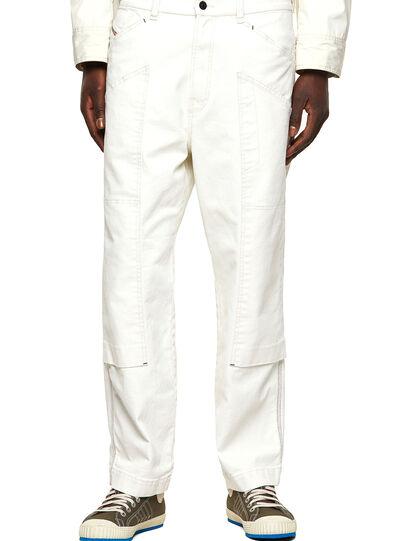 Diesel - D-Franky 009ZJ, White - Jeans - Image 1