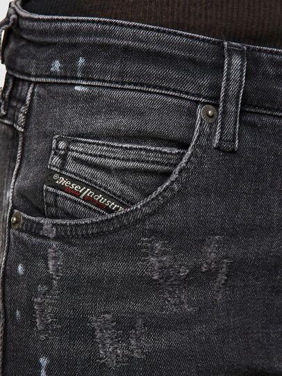 Diesel - Babhila 009JN, Black/Dark grey - Jeans - Image 3