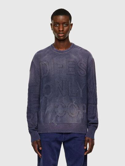 Diesel - K-NORTHERN, Blue - Knitwear - Image 1