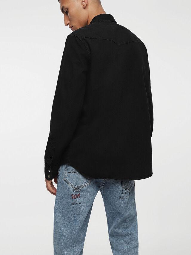 Diesel D-PLANET, Black Jeans - Denim Shirts - Image 2