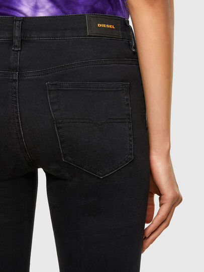 Diesel - D-Roisin 069MZ, Black/Dark grey - Jeans - Image 4