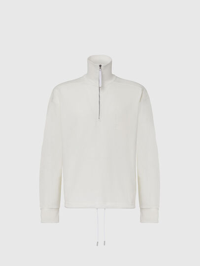 Diesel - S-STUFF, White - Sweaters - Image 1