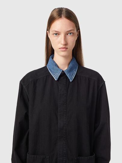 Diesel - DE-ZIMPY-SP, Black - Dresses - Image 3