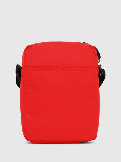 Diesel - F-BOLD SMALL CROSS, Red - Crossbody Bags - Image 2
