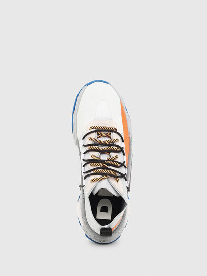 Diesel - S-KIPPER BAND, White/Orange - Sneakers - Image 4
