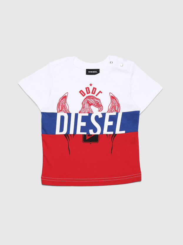 TRICKYB, White/Red/Blu - T-shirts and Tops