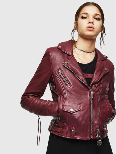 Diesel - L-SINYA-A,  - Leather jackets - Image 1