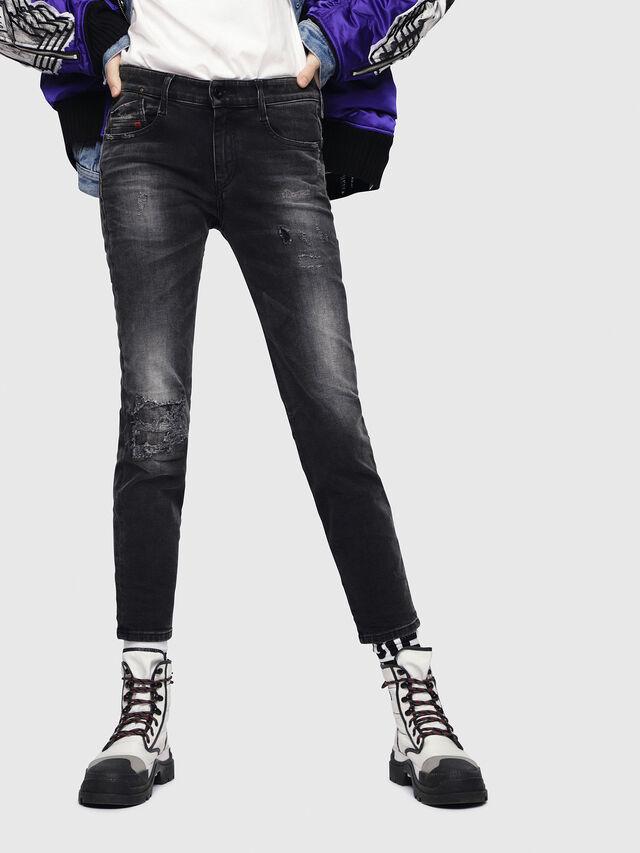 Diesel - D-Rifty 069DW, Black/Dark grey - Jeans - Image 1