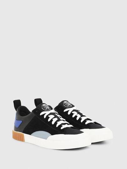 Diesel - S-BULLY LC, Black/Blue - Sneakers - Image 2