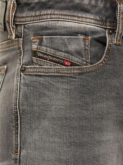 Diesel - Sleenker 009FW, Light Grey - Jeans - Image 3
