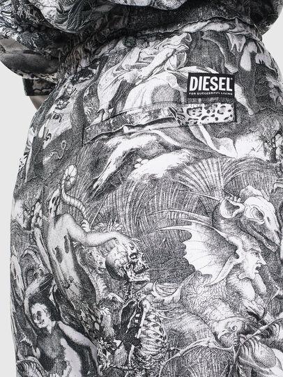 Diesel - P-TOLL-FL, Black/White - Pants - Image 5
