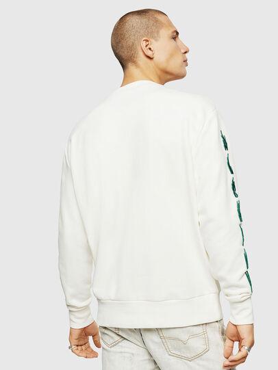 Diesel - S-BAY-EMB, White - Sweaters - Image 2