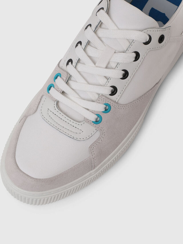 Diesel - S-DANNY LC, White - Sneakers - Image 4