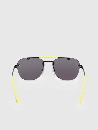 Diesel - DL0340, Black/Yellow - Sunglasses - Image 4