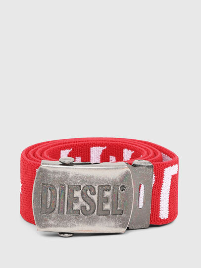 Diesel - BARTY, Red/White - Belts - Image 1