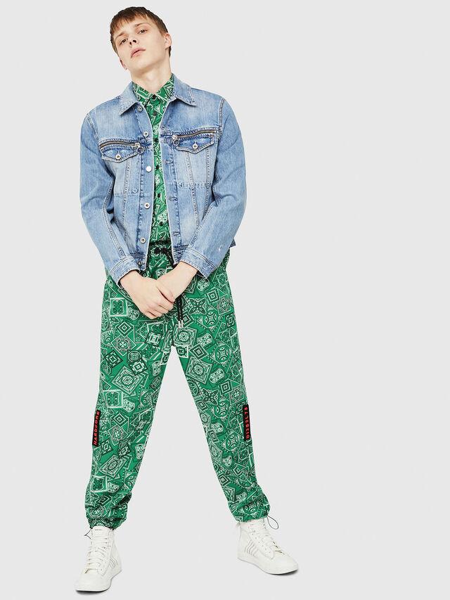 Diesel - D-ROY, Blue Jeans - Denim Jackets - Image 6