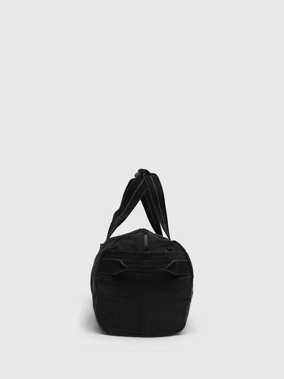 Diesel - D-THISBAG TRAVEL BAG, Black - Travel Bags - Image 3