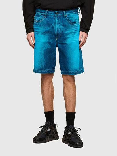 Diesel - D-MACS-SHORT-SP, Blue - Shorts - Image 1