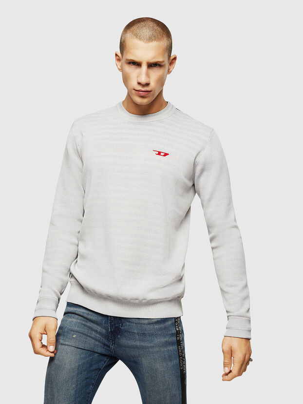 K-LUISS, Light Grey - Knitwear