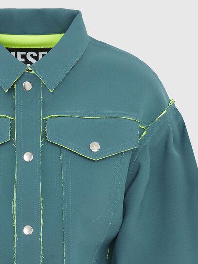 Diesel - G-ALBA, Water Green - Jackets - Image 4
