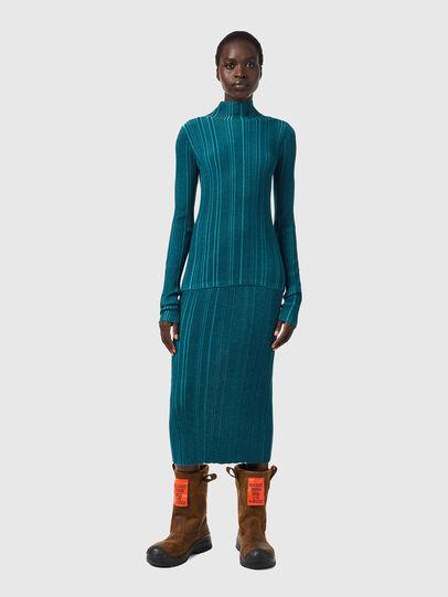 Diesel - M-ALBERTA, Water Green - Knitwear - Image 4