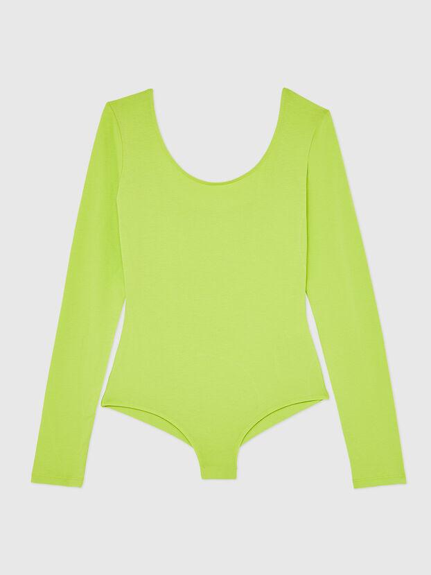 UFBY-BODY-LS, Yellow Fluo - Bodysuits