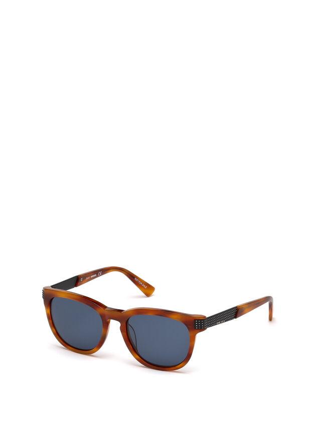 Diesel - DL0237, Light Brown - Eyewear - Image 4