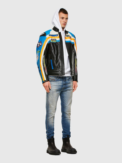 Diesel - ASTARS-LPATCH-1A-B,  - Leather jackets - Image 7