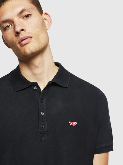 Diesel - T-NIGHT-NEW, Black - Polos - Image 3