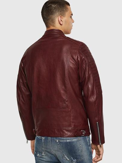 Diesel - L-SHIRO, Bordeaux - Leather jackets - Image 2