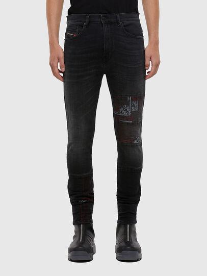 Diesel - D-Amny 009KS, Black/Dark grey - Jeans - Image 1