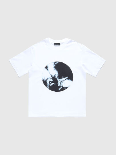 Diesel - TMOONYX2 OVER, White - T-shirts and Tops - Image 1