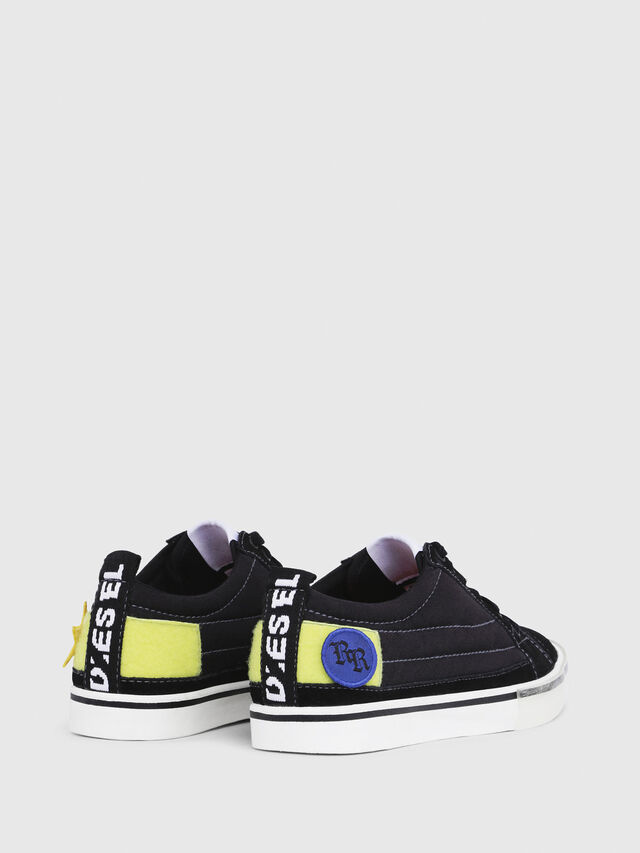 Diesel - D-VELOWS LOW PATCH W, Black - Sneakers - Image 3