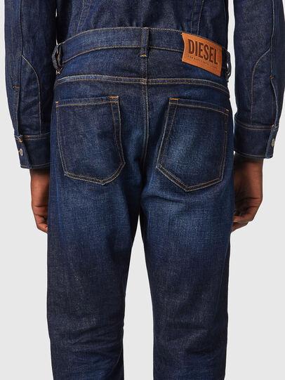 Diesel - D-Viker 09A12, Dark Blue - Jeans - Image 4