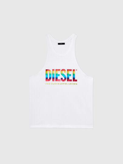 Diesel - BMOWT-LOCOARM-P, White - Tops - Image 1
