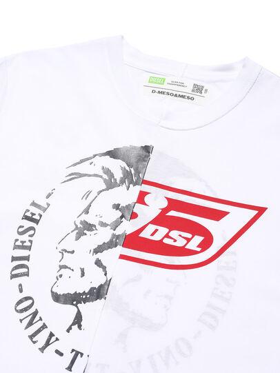 Diesel - D-MESO&MESO, White - T-Shirts - Image 2