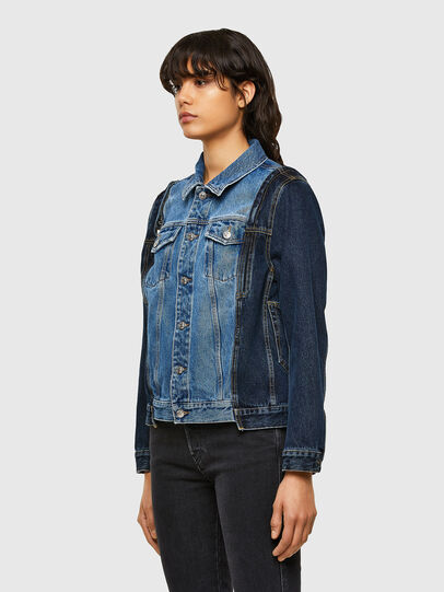 Diesel - DE-WIGG-SP, Medium blue - Denim Jackets - Image 7